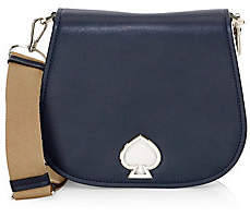 Kate Spade Women's Large Suzy Leather Saddle Bag