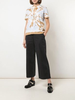 Proenza Schouler White Label tie-dye short-sleeve T-shirt