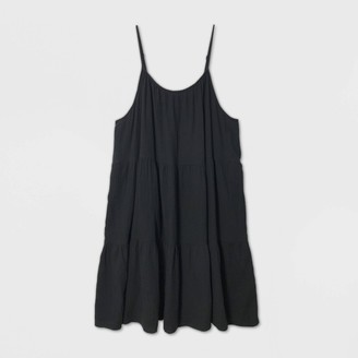 Universal Thread Women's Plus Size Sleeveless Tiered Short Dress - Universal ThreadTM