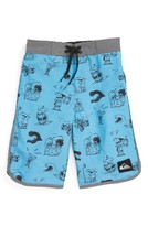 Quiksilver Toddler Boy's Graphic Print Board Shorts
