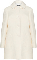 Karin Paul Plus Size Wool blend pocket detail coat