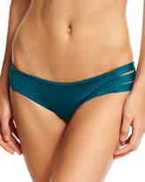 Vitamin A Emelia Strappy Swim Bottom, Blue