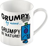 Mr Men Creative Tops Mr. Grumpy Fine China Mug, Multi-Colour