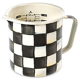 Mackenzie Childs MacKenzie-Childs Courtly Check Enamel 7-Cup Measuring Cup