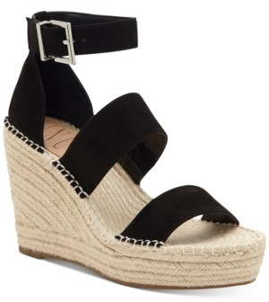 INC International Concepts Inc Women's Catiana Wedge Sandals, Created for Macy's Women's Shoes