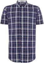 Gant Men's Short Sleeve Chambray Check Shirt