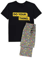 George Children in Need Do Your Thing Slogan Pyjamas