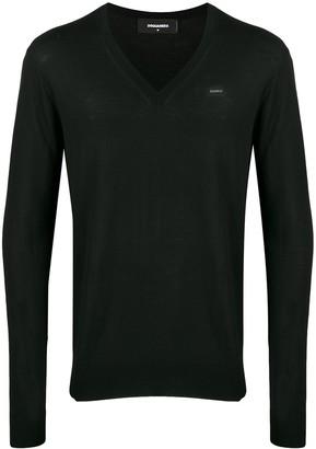 DSQUARED2 v-neck knitted jumper
