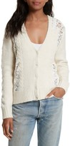 Sea Women's Lace Lace Inset Cardigan