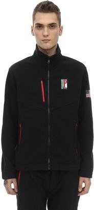 Polo Ralph Lauren Logo Zip-Up Techno Sweatshirt