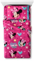 Disney Flannel Sheet Set (Twin) Pink