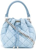 Stella McCartney 'Falabella' quilted bucket tote - women - Cotton/Metal (Other) - One Size