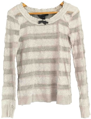 Marc by Marc Jacobs Grey Cotton Top for Women