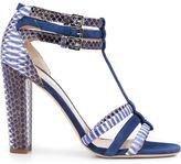 Chloe Gosselin 'Caladium' chunky heel strappy sandals