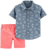 CARTERS Carter's 2-pc. Short Set Boys