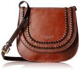 Tignanello Boho Classic Vintage Leather Saddle Bag