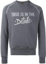 Eleventy quote print sweatshirt