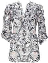 Wallis Stone Paisley Print Shirt