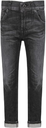 Dondup Grey george Boy Jeans With Iconic D