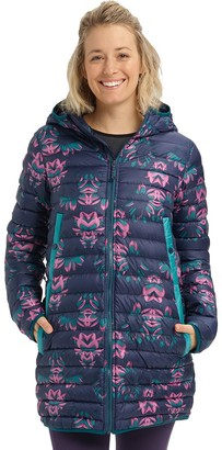 Burton Evergreen Hooded Long Down Jacket - Women's