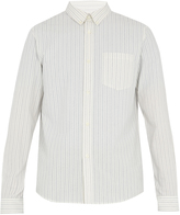A.P.C. Mick striped cotton shirt