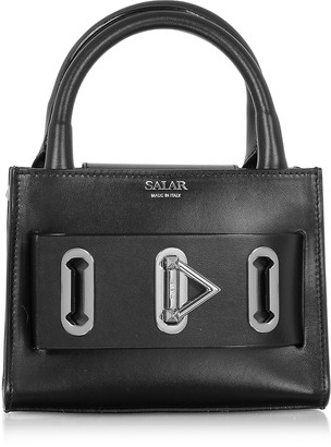 Salar Bella Basic Leather Top Handle Bag