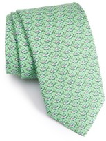 Vineyard Vines Men's Yellowtail Print Silk Tie