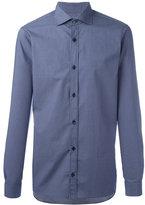 Z Zegna tonal print shirt