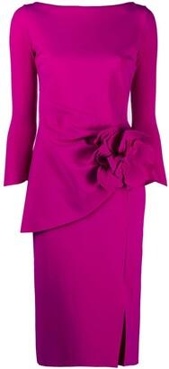 Le Petite Robe Di Chiara Boni Floral-Applique Dress