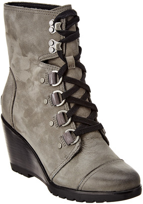 Sorel After Hours Suede Wedge Bootie