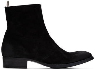 Officine Creative Black Sean 4 Boots
