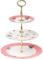 Royal Albert Cheeky Pink 3 Tier Cake Stand