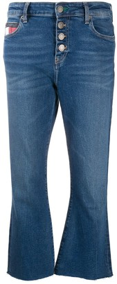 Tommy Jeans Buttoned Cropped Jeans