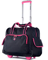 Olympia Deluxe Fashion Rolling Overnight Duffel