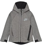 Nike Grey Tech Fleece Full Zip Hoodie