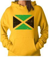 TeeStars - Vintage Jamaica Flag Retro Style Jamaican Women Hoodie