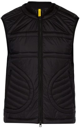 Craig Green 5 Moncler Keops Quilted Down Filled Gilet - Mens - Black