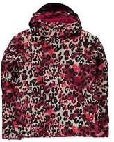 O'Neill Kids Girls Scribble Jacket Ski Coat Top Long Sleeve Chin Guard Waterproof