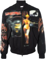 Givenchy printed bomber jacket - men - Cotton/Viscose - L