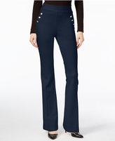 INC International Concepts Curvy Flare-Leg Trousers, Only at Macy's