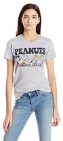 Mighty Fine Women's Peanuts Retro Group L Graphic Tee