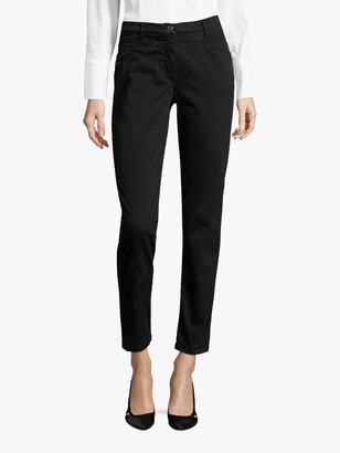 Betty Barclay Brushed Denim Jeans, Black