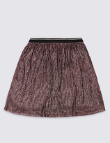 Marks and Spencer Pleated Midi Skirt (3-14 Years)