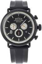 Shinola The Runwell Sport Chrono Dial Rubber Men's Watch S0100076