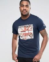 Lambretta Scooter Block Print T-Shirt