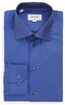 Eton Men's Slim Fit Floral Dress Shirt