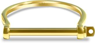 Opes Robur Gold Xl Screw Cuff Bracelet