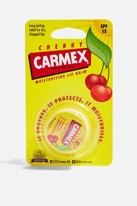 Carmex Womens Cherry Lip Balm Pot - Yellow