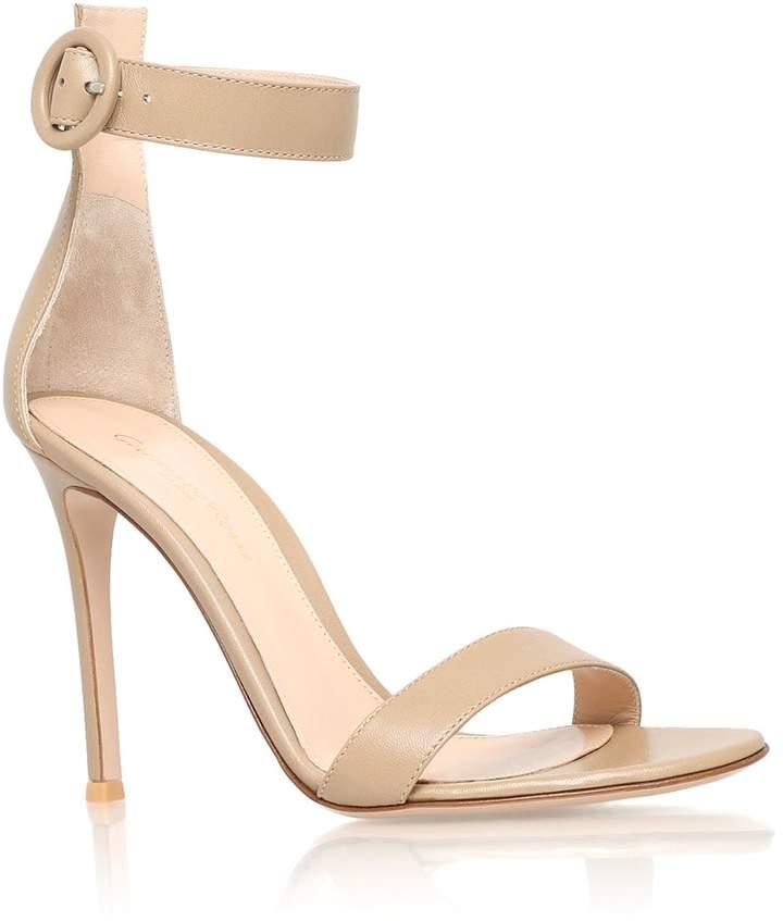 Gianvito Rossi Leather Como Sandals 105