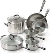 Calphalon Simply 10-pc. Stainless Steel Cookware Set